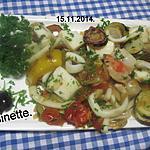 recette Crustacés aux légumes du soleil.