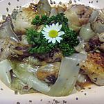 recette Pillons de poulet aux endives.
