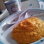 recette Purée carotte polenta et dinde *Pour Bébé*