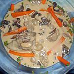 recette Blanquette de tendron de veau