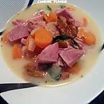 recette Blanquette de jambonneau de dinde