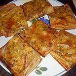 recette Brick au poulet et fromage