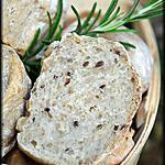 recette Petits pains aux céréales et miel de romarin