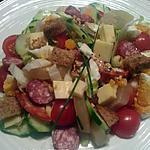 recette Salade composée automnale
