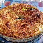 recette Gâteau moëlleux et croustillant aux pommes et à la crème de châtaignes