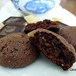 recette Cookies Moelleux Choco-Gingembre