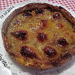 recette Tarte aux poires sur une compote de poires.