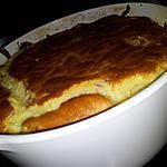 recette Soufflé au jambon-mozzarella