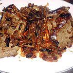 recette Foie de boeuf aux oignons caramélisés