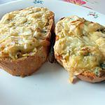 recette pain garnis a la pomme de terre et fromage