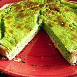 recette Quiche au jus vert de poireau