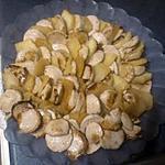 recette millefeuille de boudin blanc aux pommes