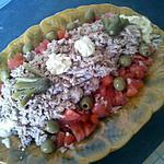 recette Salade express de tomates au thon