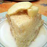 recette Gâteau de riz aux pommes ultra moelleux