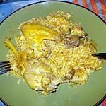 recette Poulet au riz