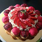 recette St honoré à la fraise