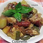 recette Sauté de veau aux légumes.