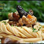 recette Sauté de veau aux champignons des bois