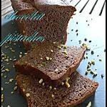 recette quatre-quart chocolat caramel et pistaches