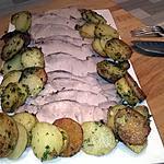 recette Échine de porc au cumin et pomme de terres Sarladaise