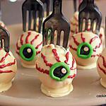 recette cakes pops spécial HALLOWEEN