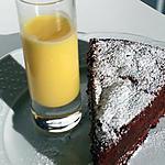 recette Moelleux au chocolat et crème anglaise