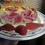 recette clafoutis aux fraises.