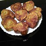recette MUFFINS POMMES-CHOCOLAT BLANC-NOISETTES