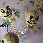 recette Cakes pops de la mort pour halloween