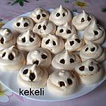 recette Fantômes meringues