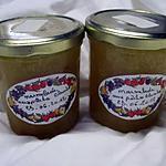 recette Marmelade de pêches blanches natures.