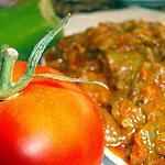 recette poivrons grillés a la tomate( à la marocaine)