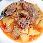 recette AGNELLO IN BRODO (au bouillon en soupe)