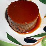recette CREME RENVERSEE CHOCOLAT CARAMEL