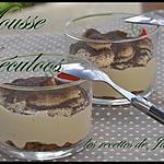 recette mousse à la pâte de spéculoos