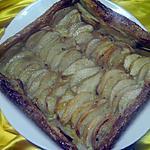 recette Tarte aux poires.