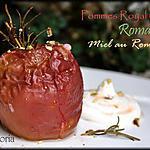 recette Pommes au four, au romarin et miel