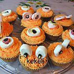 recette Cupcake potiron pour halloween