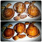 recette Poires caramélisées au four