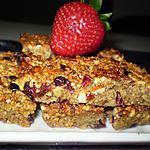 recette Chewy granola bars: Barres de céréales maison !