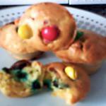 recette moelleux d' Halloween aux smarties