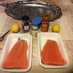 recette carpaccio de saumon