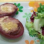 recette oignons rouges farcis