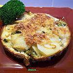 recette gratins dauphinois aux brocolis