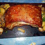 recette Poitrine de porc rotie aux aromates