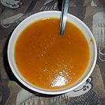 recette potage au butternut et tomate