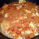 recette poulet à la tomate et au chèvre