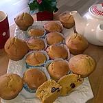 recette Muffin Américain aux Cranberry et Amaretto