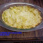 recette Gratin de spaghettis à la viande hachée et aux champignons