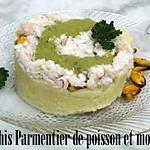 recette Hachis parmentier de poisson et moules